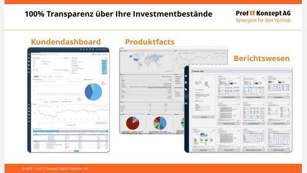100 % Transparenz über Investmentbestände - Präsentation